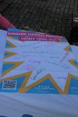 Eindrücke vom Kinderrechtefest